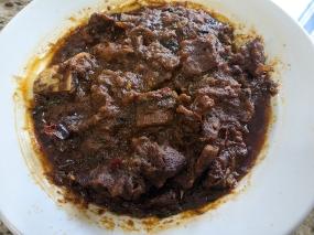 Bawarchi, Gongura Mutton