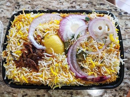 Bawarchi, Hyderabadi Goat Dum Biryani