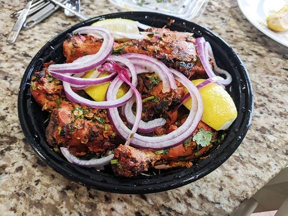 Bawarchi, Tandoori Chicken