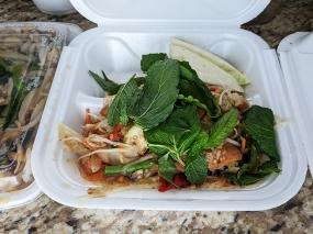 Cheng Heng, #14 Papaya Salad