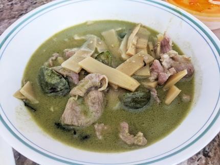 Cheng Heng, Green Curry, Pork, reheated