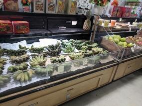 Saigon Asian Food Market, Tamarind, Bananas, More Fruit