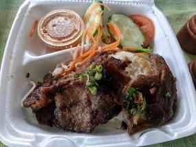 Saigon Deli, Grilled Pork and Rice