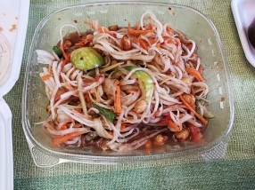 Saigon Deli, Papaya Salad, mixed