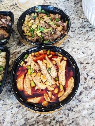 Grand Szechuan, Appetizers