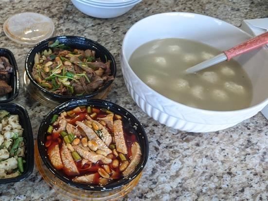 Grand Szechuan, Soup and Starters