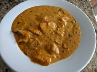 Kabob's, Butter Chicken, reheated