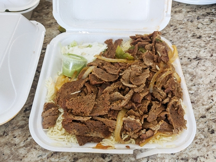 Nawal, Gyro meat with rice