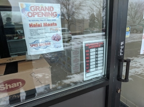Spice Bazaar, Halal meats since May 2017
