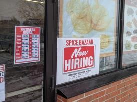 Spice Bazaar, Hours