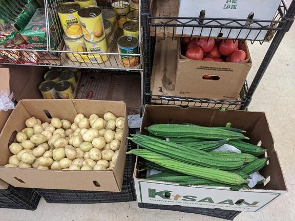 Spice Bazaar, Ridge gourd, potatoes