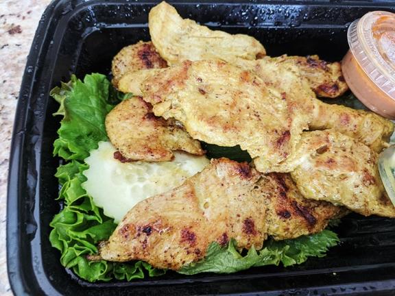 Bangkok Thai Deli, Chicken Satay