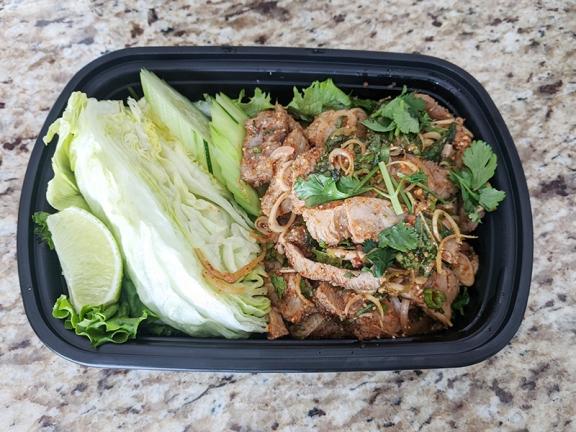 Bangkok Thai Deli, Grilled Pork Salad