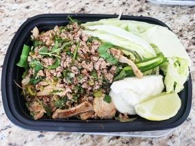 Bangkok Thai Deli, Larb E-San, cooked