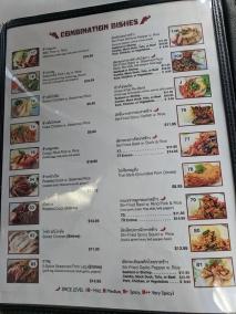 Bangkok Thai Deli, Menu, Combination Dishes