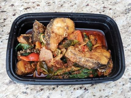 Bangkok Thai Deli, Stir-Fried Spicy Catfish