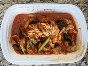 Bangkok Thai Deli, Thick Curry w. Pork