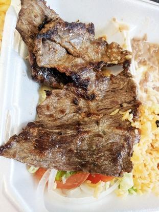 El Triunfo, Mmm thinly sliced beef...