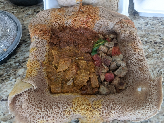 Fasika, Beef Combination