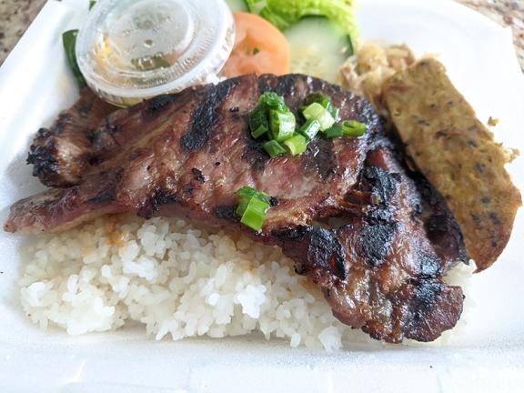 Pho Everest, Combo grilled pork