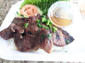 Pho Everest, Grilled pork
