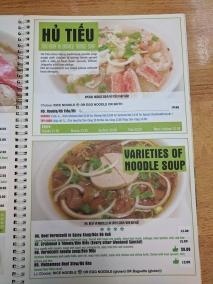 Pho Everest, Menu, Hu Tieu, Noodle Soup