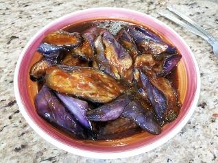 Grand Szechuan, Eggplant, reheated