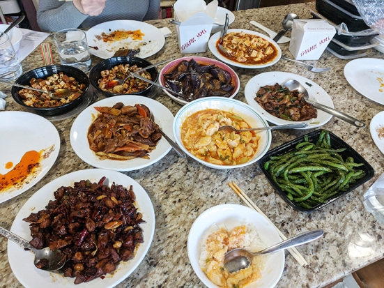 Grand Szechuan, Most of the spread