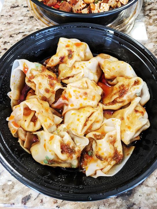Grand Szechuan, Spicy Wontons