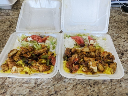 Gyros Grill, Chicken Kabob Platters