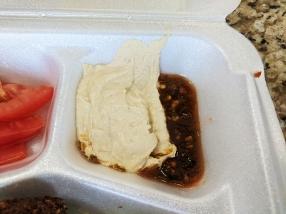 Gyros Grill, Hummus Side