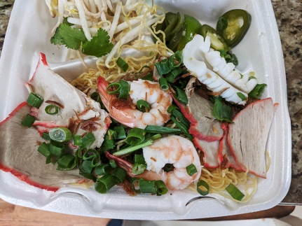 Trieu Chau, Mi Trieu Chau, seafood and pork