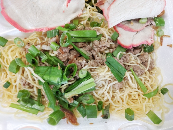 Trieu Chau, Noodles and ground pork