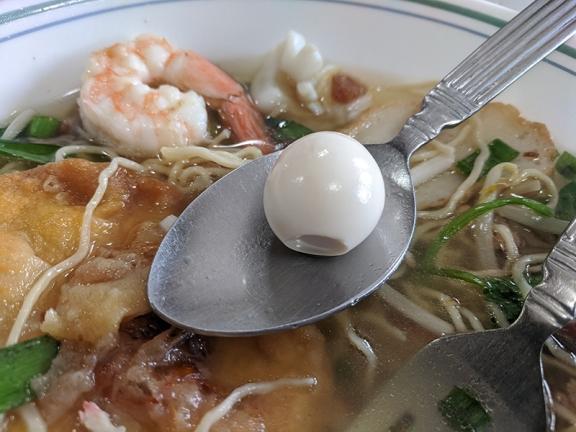 Trieu Chau, Quail egg