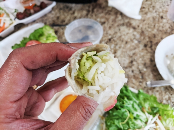Trieu Chau, Springroll meat