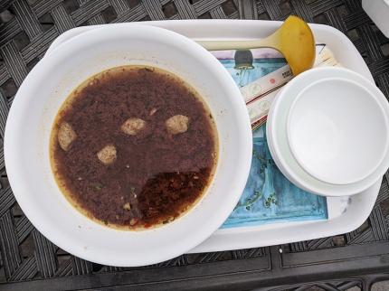 Basil Cafe, Boat Noodles, Broth