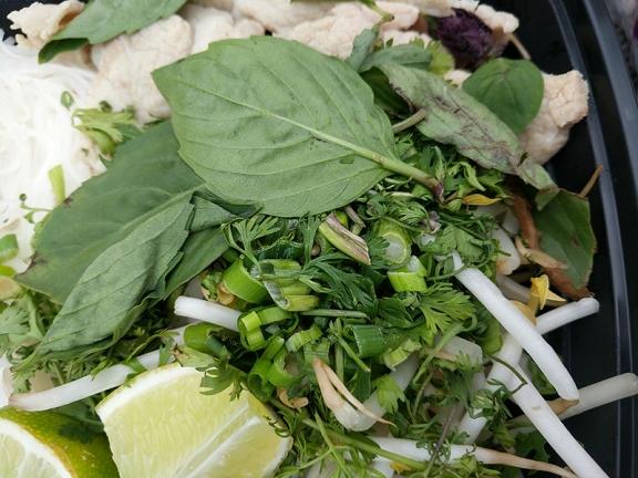 Basil Cafe, Boat Noodles, Greens