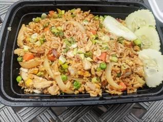 Basil Cafe, Fried Rice, horizontal
