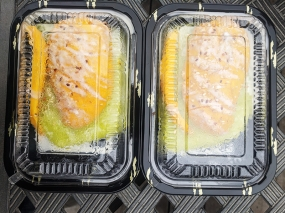 Basil Cafe, Mango Sticky Rice x 2