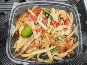 Basil Cafe, Papaya Salad