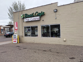Basil Cafe, Parking Lot