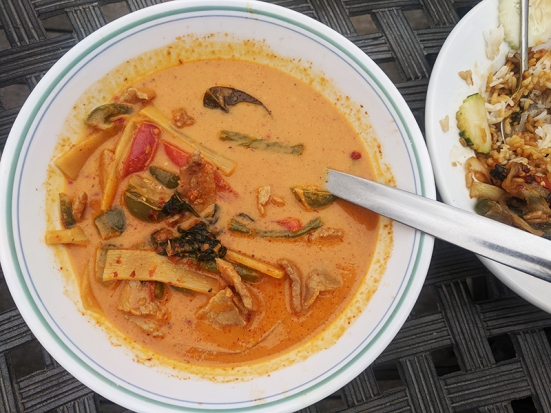 Basil Cafe, Red Curry