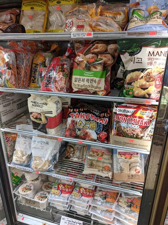 Kim's, More dumplings + Noodles