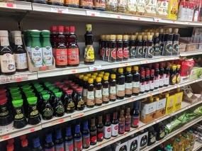 Kim's, Soy Sauce, Sesame Oil