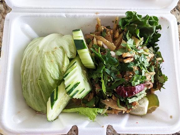 On's Kitchen, Bamboo Salad