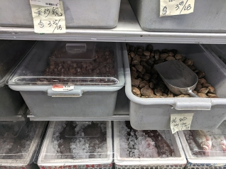 Rong Market, Baby Clams, Snails