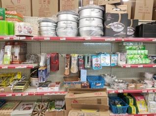 Rong Market, Cookware etc