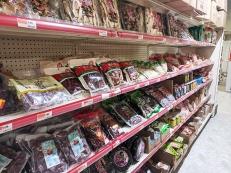 Rong Market, Dried Fruit, Mushrooms etc