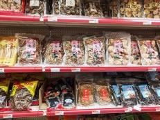 Rong Market, Dried Mushrooms, Seaweed etc