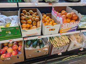 Rong Market, Fruit, Lemongrass